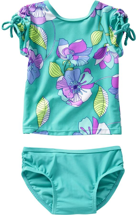 Old Navy Floral Swim Sets for Baby