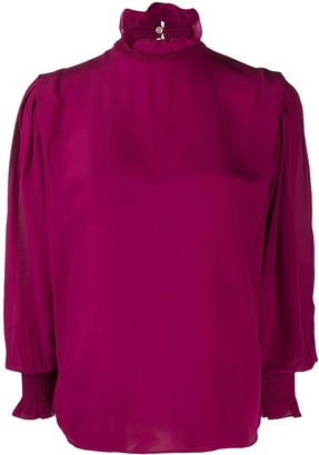 Etoile Isabel Marant High Neck Blouse