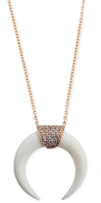 Jacquie Aiche Double Bone Horn Necklace Bracelet