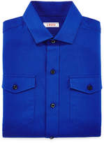 Izod Herringbone Dress Shirt - Boys 8-20