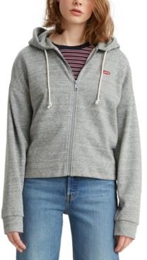 Levi's Fleece Zip-Up Hoodie