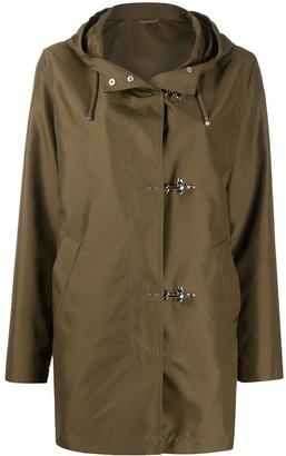 Fay Short Hooded Raincoat
