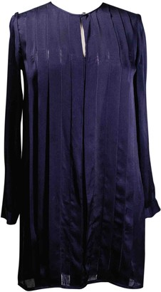 A.P.C. Purple Silk Dresses