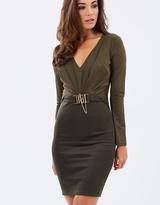 Lipsy Chain Body-Con Dress