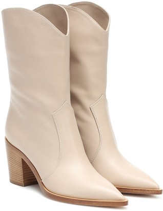 Gianvito Rossi Denver leather ankle boots