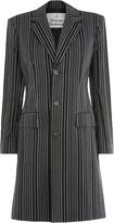 Vivienne Westwood City Coat Black Stripes Size 38