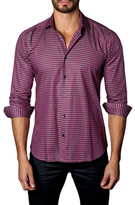 Jared Lang Cotton Plaid Button-Down Sportshirt