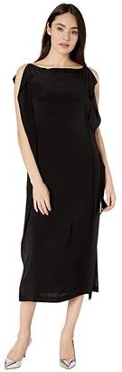 McQ Haruko Tunic Dress (Black) Women's Dress