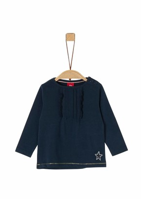S'Oliver Baby Girls' 65.911.31.7729 Long Sleeve Top