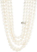 Cathy Waterman Women's Five-Strand Pearl Necklace