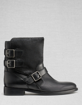 Belstaff Beddington Short Boots Black
