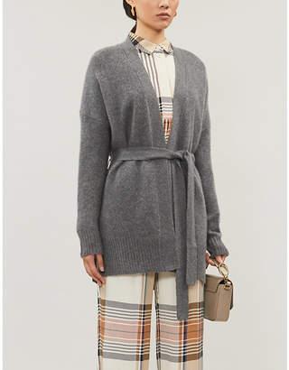 360 Cashmere Adeline V-neck oversized cashmere cardigan
