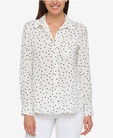 Tommy Hilfiger Printed Shirt, Only at Macy's