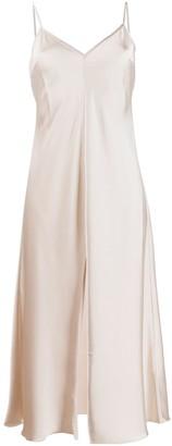 Rotate by Birger Christensen Midi Slip Dress