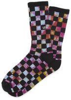 Vans Trippy Checkerboard Crew Sock
