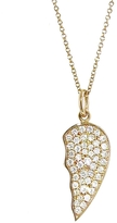 Jennifer Meyer Piece Of My Heart Necklace - Right Half
