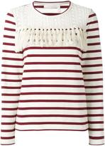 See by Chloe striped blouse - women - Cotton - M