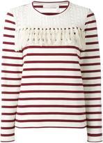 See by Chloe striped blouse - women - Cotton - M