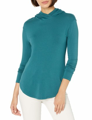Daily Ritual Amazon Brand Women's Supersoft Terry Long-Sleeve Hoodie Pullover