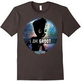 Marvel Groot Guardians of Galaxy 2 Starry Graphic T-Shirt