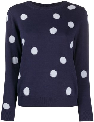 Paul Smith Dotted Long Sleeve Jumper