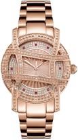 JBW 10 YR Anniversary Women's Diamond Rose Gold -Plated Watch