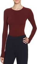 Theory Tace Long-Sleeve Bodysuit