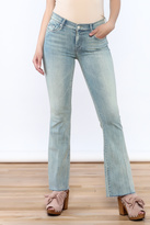 Mother The Weekender Fray Jean