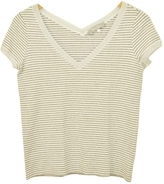 Max Mara Silver Cotton Top