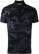 Valentino Rockstud camouflage polo shirt - men - Cotton - S