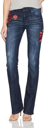 Grace in LA Women's Easy Fit Bootcut Jeans Pants