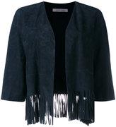 Simonetta Ravizza fringed jacket - women - Goat Suede - 44
