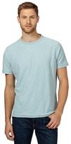Mantaray Light Blue Textured Jersey T-shirt