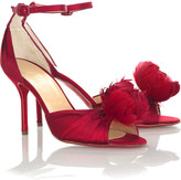 Rosazissimo feather shoes
