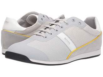 HUGO BOSS Glaze Low Profile Sneakers (Light/Pastal Grey) Men's Shoes