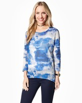 Charming charlie Watercolor Print Sweater