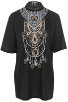 Jaded London **Crochet Necklace T-Shirt
