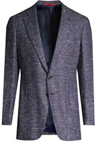 Isaia Classic-Fit Donegal Wool Sportcoat