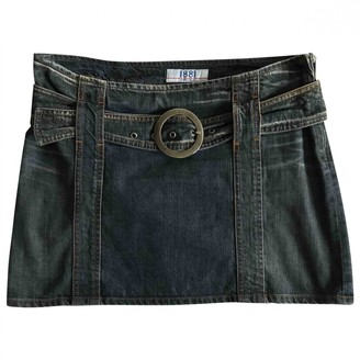 Cerruti Blue Denim - Jeans Skirt for Women Vintage