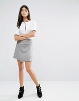 Glamorous Wrap Front Mini Skirt