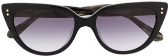 Kate Spade Alijah cat-eye frame sunglasses