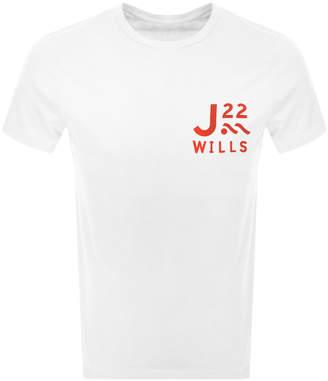 Jack Wills Barford Short Sleeved T Shirt White