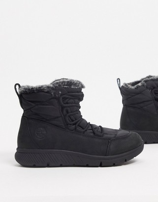 Timberland boltero winter boots in black