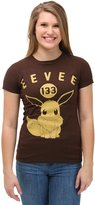 Pokemon Eevee 133 Varisty Juniors T-shirt(Extra Large,)