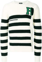 Raf Simons striped jumper