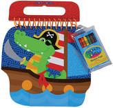 Stephen Joseph Alligator Pirate Sketch Pad Set