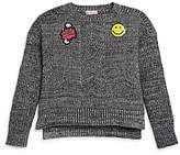 Design History Girls' Emoji Sweater - Big Kid