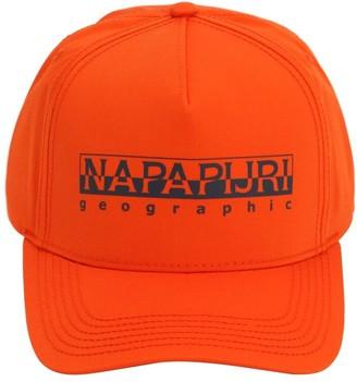 Napapijri Framing Cotton Blend Baseball Hat
