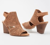 Vince Camuto Leather Detailed Heeled Sandals - Dachelle