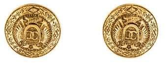 Chanel Medallion Clip-On Earrings